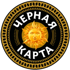 Черная карта Логотип