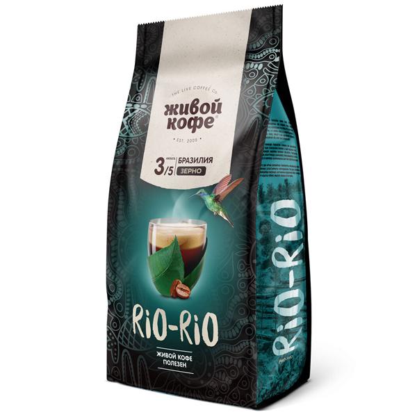 Живой кофе Rio-Rio