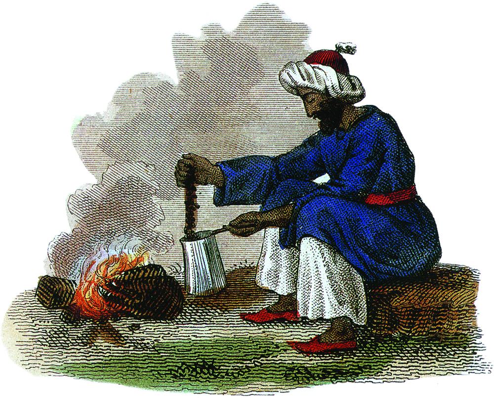 Кофе был распространен в странах Магрита